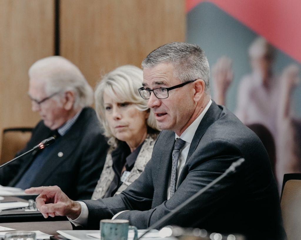 finance minister toews