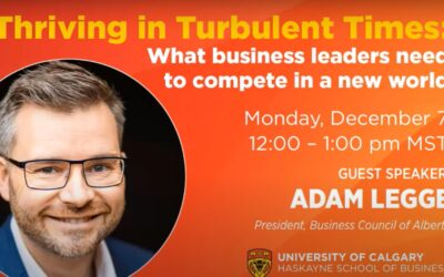 PRESENTATION: GBFI: What business leaders need to compete in a new world | Adam Legge